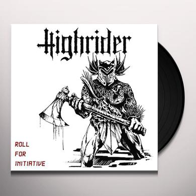 HIGHRIDER ROLL FOR INITIATIVE Vinyl Record