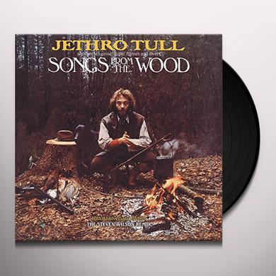 Jethro Tull SONGS FROM THE WOOD Vinyl Record