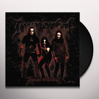 Immortal DAMNED IN BLACK Vinyl Record