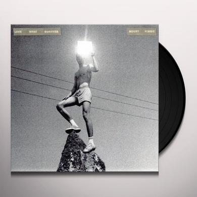 Mount Kimbie LOVE WHAT SURVIVES Vinyl Record