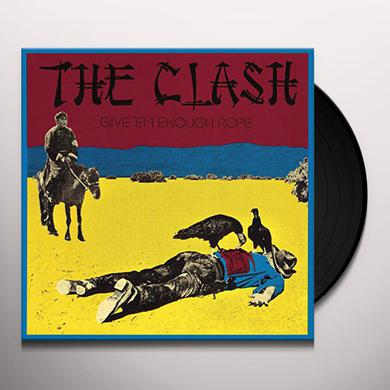 Clash GIVE EM ENOUGH ROPE Vinyl Record