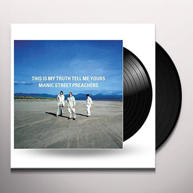 Manic Street Preachers THIS IS MY TRUTH TELL ME YOURS Vinyl Record