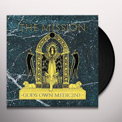 The Mission GOD'S OWN MEDICINE Vinyl Record