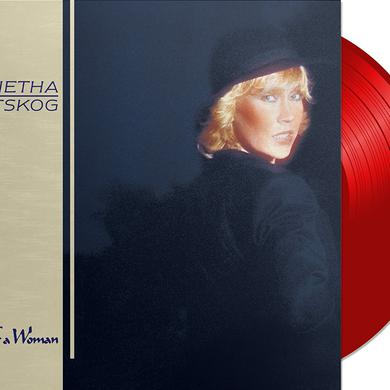Agnetha Faltskog EYES OF A WOMAN (RED VINYL) Vinyl Record