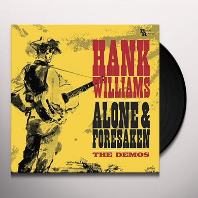 Hank Williams ALONE & FORSAKEN: THE DEMOS Vinyl Record