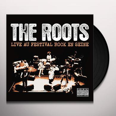The Roots LIVE AU FESTIVAL ROCK EN SEINE Vinyl Record