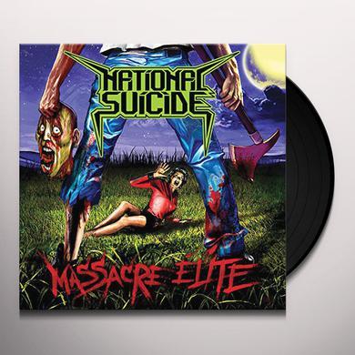 NATIONAL SUICIDE MASSACRE ELITE Vinyl Record