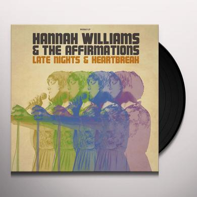 Hannah Williams & The Affirmations LATE NIGHTS & HEARTBREAK Vinyl Record