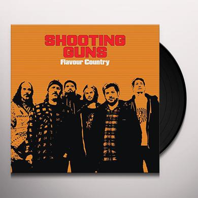 SHOOTING GUNS FLAVOUR COUNTRY Vinyl Record