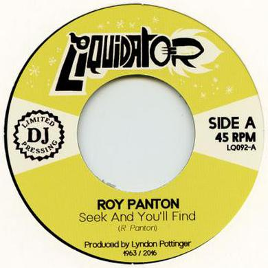 Roy Panton SEEK & YOU'LL FIND Vinyl Record