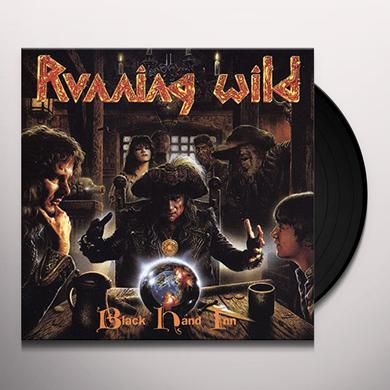 Running Wild BLACK HAND INN Vinyl Record