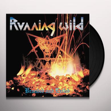 Running Wild BRANDED & EXILED Vinyl Record