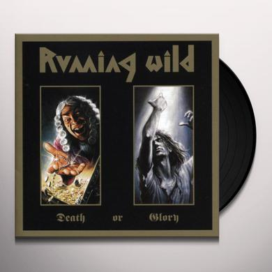 Running Wild DEATH OR GLORY Vinyl Record