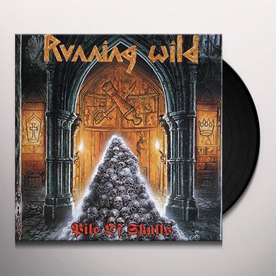 Running Wild PILE OF SKULLS Vinyl Record