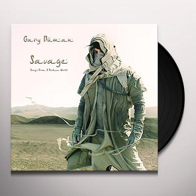 Gary Numan SAVAGE (SONGS FROM A BROKEN WORLD) Vinyl Record
