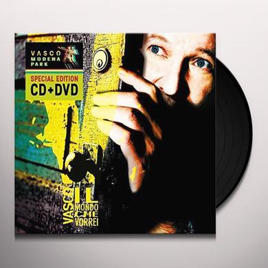 Vasco Rossi IL MONDO CHE VORREI Vinyl Record