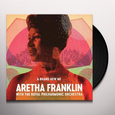 BRAND NEW ME: ARETHA FRANKLIN WITH ROYAL PHIL ORCH Vinyl Record