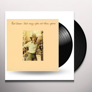 Paul Simon STILL CRAZY AFTER ALL THESE YEARS Vinyl Record