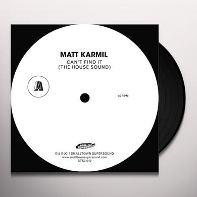 Matt Karmil CANT FIND IT Vinyl Record