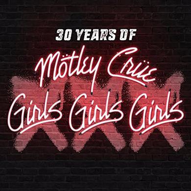 Motley Crue XXX: 30 YEARS OF GIRLS GIRLS GIRLS Vinyl Record