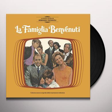 Armando Trovajoli LA FAMIGLIA BENVENUTI Vinyl Record