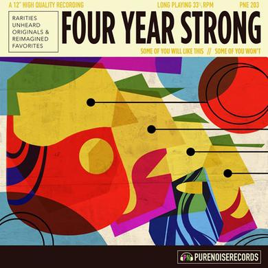Four Year Strong SOME OF YOU WILL LIKE THIS, SOME OF YOU WON'T Vinyl Record