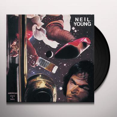 Neil Young AMERICAN STARS 'N BARS Vinyl Record