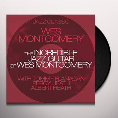 Wes Montgomery INCREDIBLE JAZZ GUITAR OF + 1 BONUS TRACK Vinyl Record