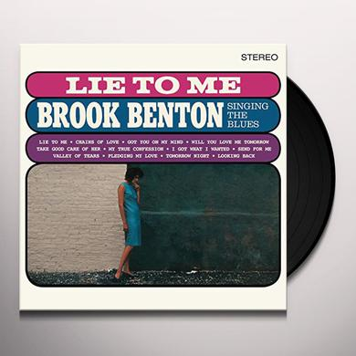 LIE TO ME: BROOK BENTON SINGING THE BLUES + 2 Vinyl Record