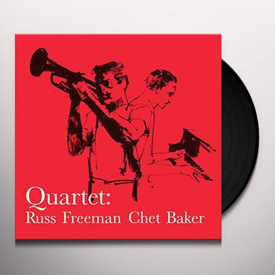 Chet Baker QUARTET WITH RUSS FREEMAN + 1 BONUS TRACK Vinyl Record
