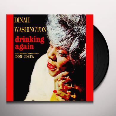 Dinah Washington DRINKING AGAIN Vinyl Record