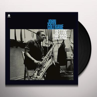 John Coltrane SETTIN THE PACE + 1 BONUS TRACK Vinyl Record