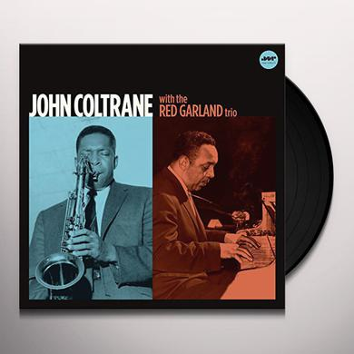 John Coltrane WITH THE RED GARLAND TRIO + 1 BONUS TRACK Vinyl Record