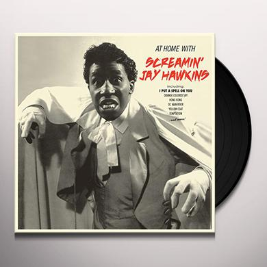 Screamin Jay Hawkins AT HOME WITH + 4 BONUS TRACKS Vinyl Record