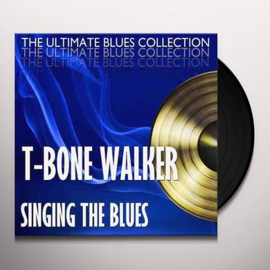 T-Bone Walker SINGING THE BLUES + 2 BONUS TRACKS (BONUS TRACKS) Vinyl Record