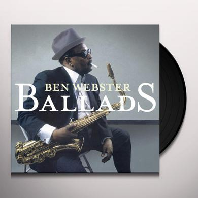 Ben Webster BALLADS Vinyl Record - Gatefold Sleeve, Limited Edition, 180 Gram Pressing, Special Edition, Spain Release