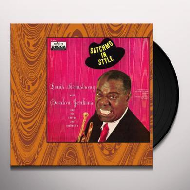 Louis Armstrong SATCHMO IN STYLE + 2 BONUS TRACKS Vinyl Record