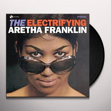 Aretha Franklin ELECTRIFYING + 2 BONUS TRACKS Vinyl Record