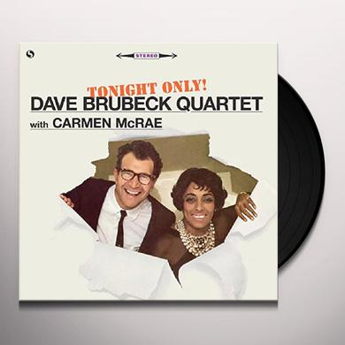 Dave Brubeck / Carmen Mcrae TONIGHT ONLY + 1 BONUS TRACK Vinyl Record