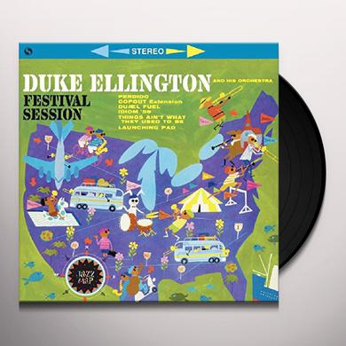 Duke Ellington FESTIVAL SESSION + 2 BONUS TRACKS (BONUS TRACKS) Vinyl Record