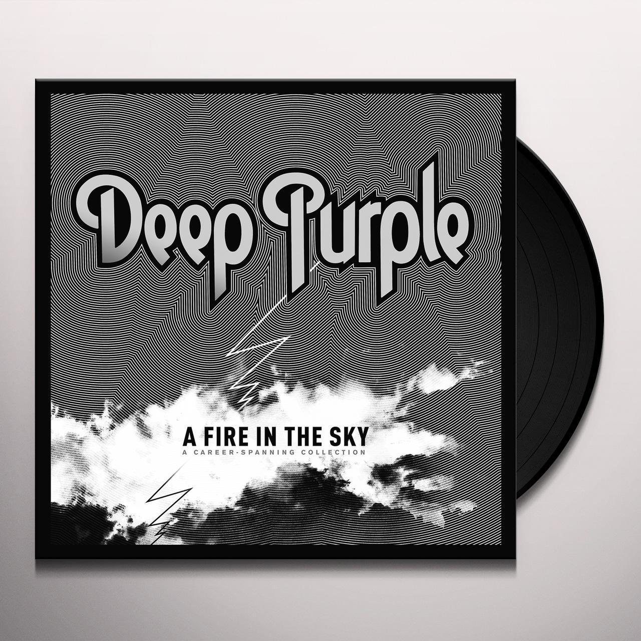 Deep Purple Fire In The Sky Vinyl Record