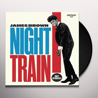 James Brown NIGHT TRAIN: MIGHTY INSTRUMENTALS Vinyl Record