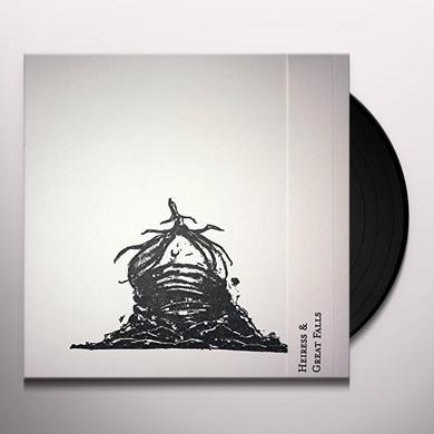 Heiress SPLIT / GREAT FALLS Vinyl Record