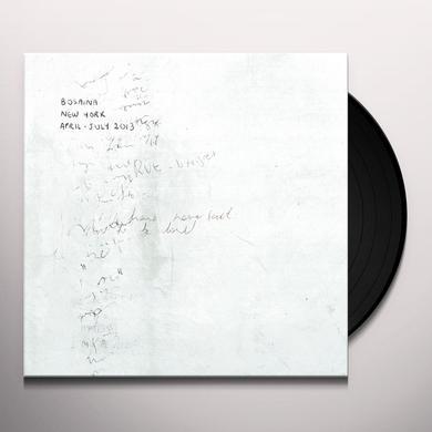 Bosaina NEW YORK APRIL-JULY 2013 / TWO NAMES UPON SHORE Vinyl Record