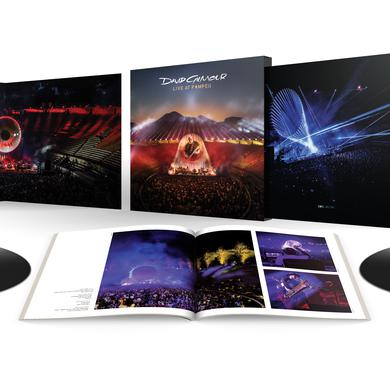David Gilmour LIVE AT POMPEII Vinyl Record