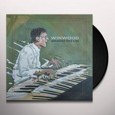 Steve Winwood WINWOOD GREATEST HITS LIVE Vinyl Record