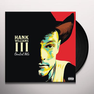 Hank Williams Iii GREATEST HITS Vinyl Record