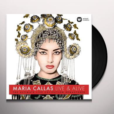 Maria Callas LIVE & ALIVE - ULTIMATE LIVE COLLECTION Vinyl Record