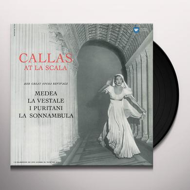 Maria Callas CALLAS AT LA SCALA (STUDIO RECITAL) Vinyl Record