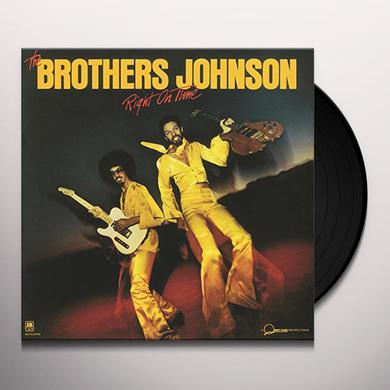 Brothers Johnson RIGHT ON TIME Vinyl Record